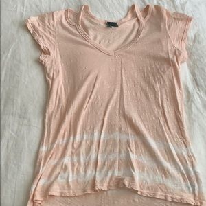 Anthropologie cotton tie dye tee